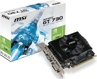 Видеокарта MSI nVidia GeForce GT 730 , N730-2GD3V2, 2ГБ, DDR3